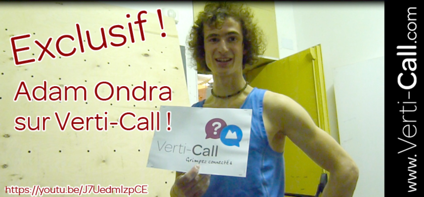 Adam Ondra : Interview Exclusive !