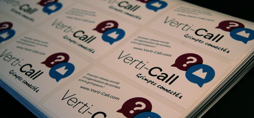 Les Stickers Verti-Call sont disponibles !